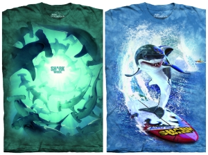 A portion of the proceeds from Shark Week tshirts will be donated to the WAVE Foundation.