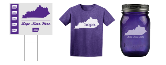 Hope_Yard_Sign_n_Shirt_n_Jar