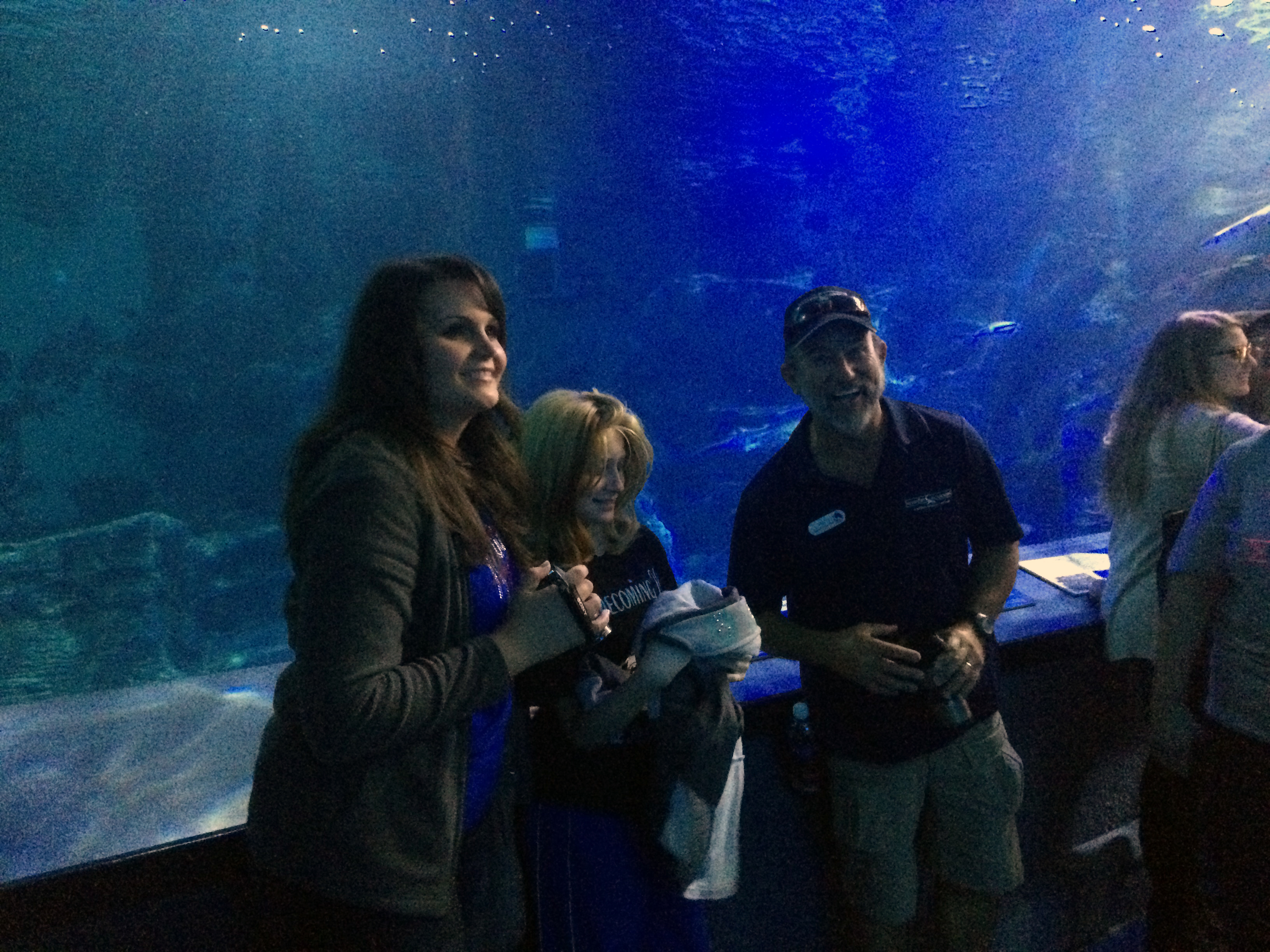 Zoologist For A Day Downtown Aquarium Arion And Destiny With Ric In The Shark