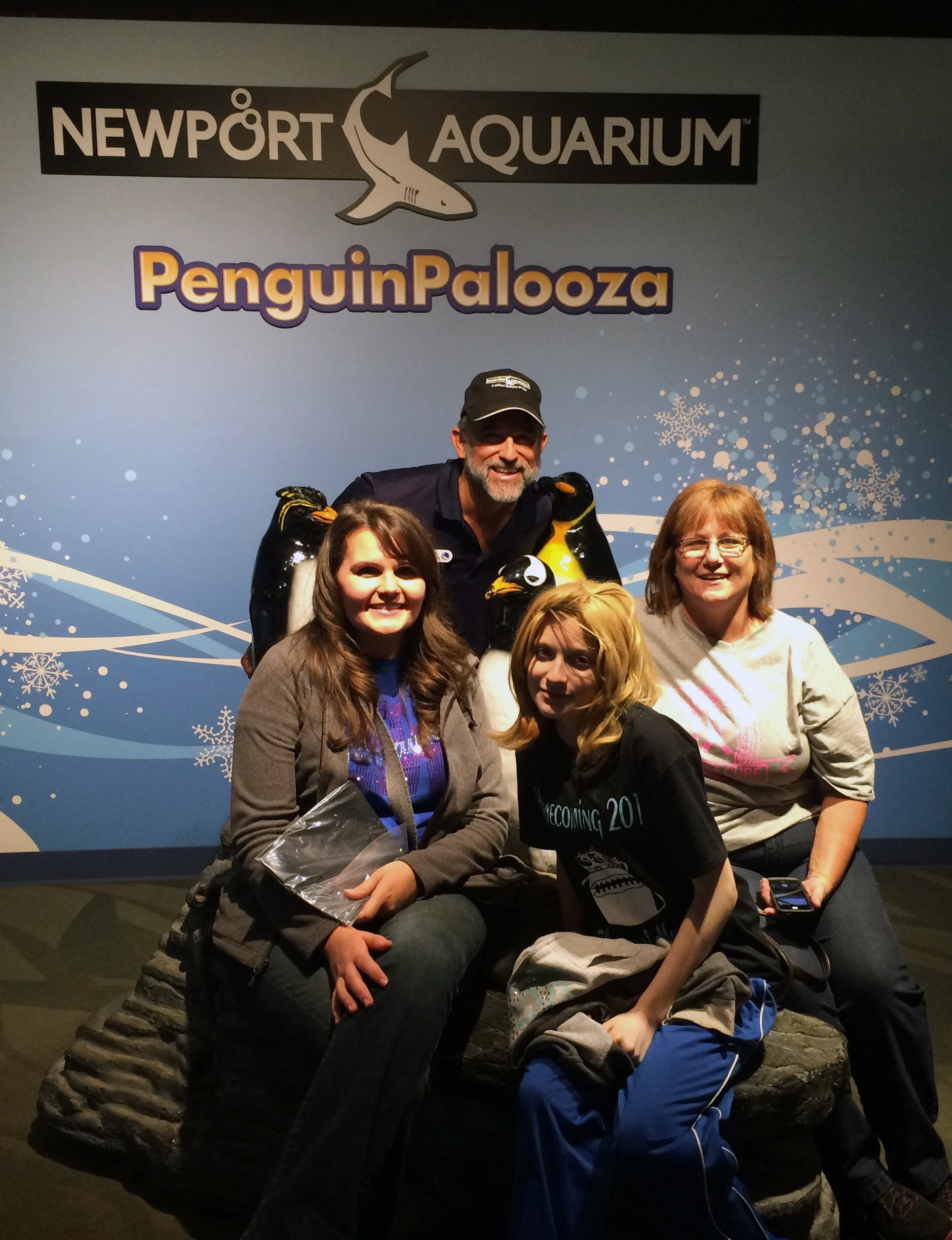 Zoologist For A Day Downtown Aquarium Arion Destiny And Cathy With Ric In The