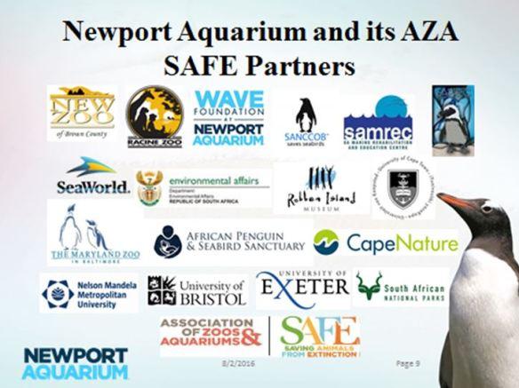 Newport Aquarium and AZA SAFE Partners